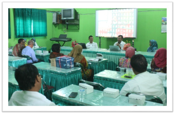 Acara Sharing SMAN 3 Yogyakarta dengan SMAN 1 Geger